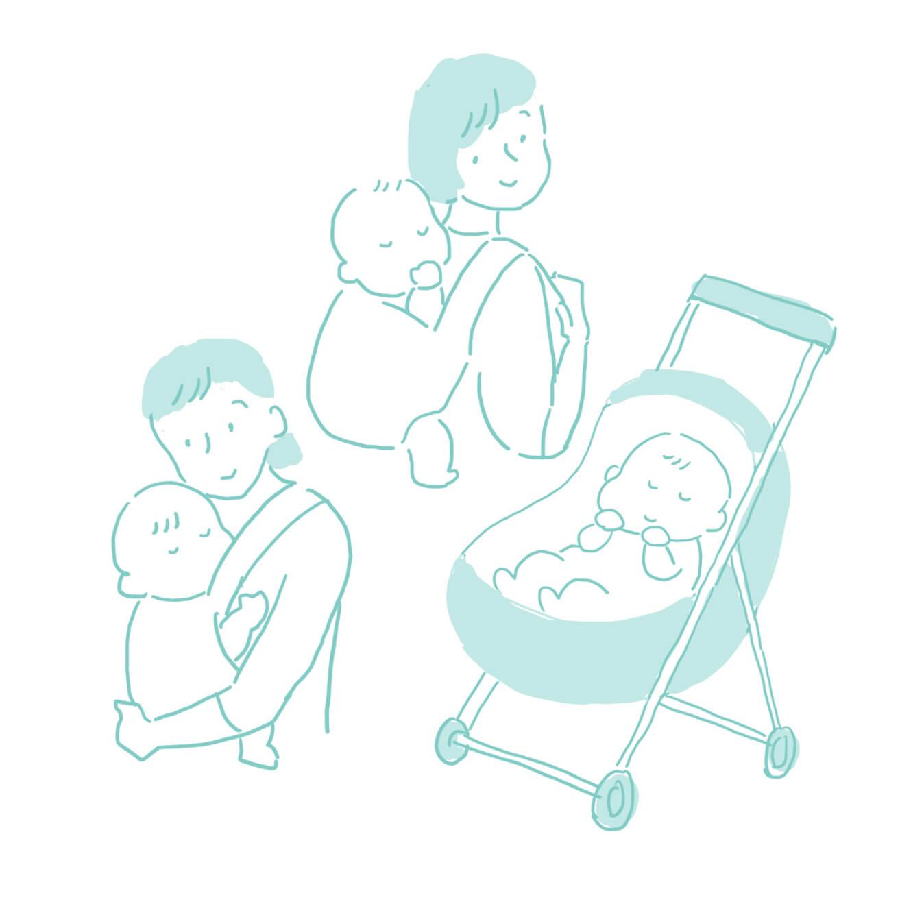 赤ちゃんとご参加の方へ